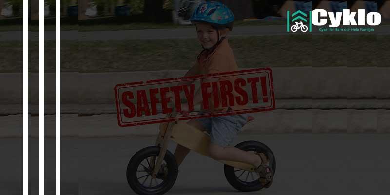 Säkerheten vid Cykling på Balanscykel  9e615829c351d