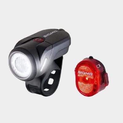 Bästa lampset för cykelpendling - Sigma Aura 35 / Nugget II